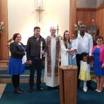 First Baptism at St Christopher's